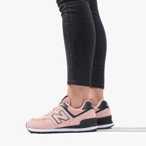 נעליים ניו באלאנס לנשים New Balance WL574WNA - אפור/ורוד