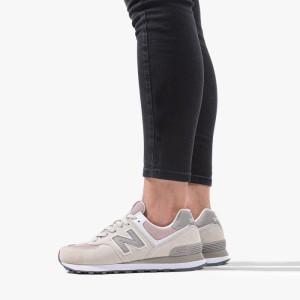 נעליים ניו באלאנס לנשים New Balance WL574WNA - אפור בהיר
