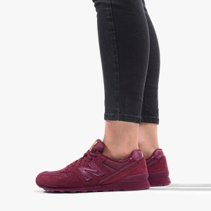 נעליים ניו באלאנס לנשים New Balance WL996FC - אדום יין