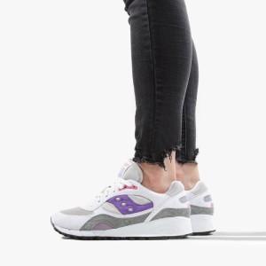 נעליים סאקוני לנשים Saucony Shadow 6000 - לבן/סגול