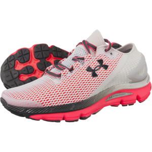 נעליים אנדר ארמור לנשים Under Armour SPEEDFORM GEMINI D 2 1 001 - אפור/אדום