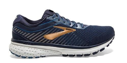 נעליים ברוקס לגברים Brooks Ghost 12 - כחול/צהוב