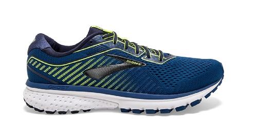 נעליים ברוקס לגברים Brooks Ghost 12 - כחול/ירוק