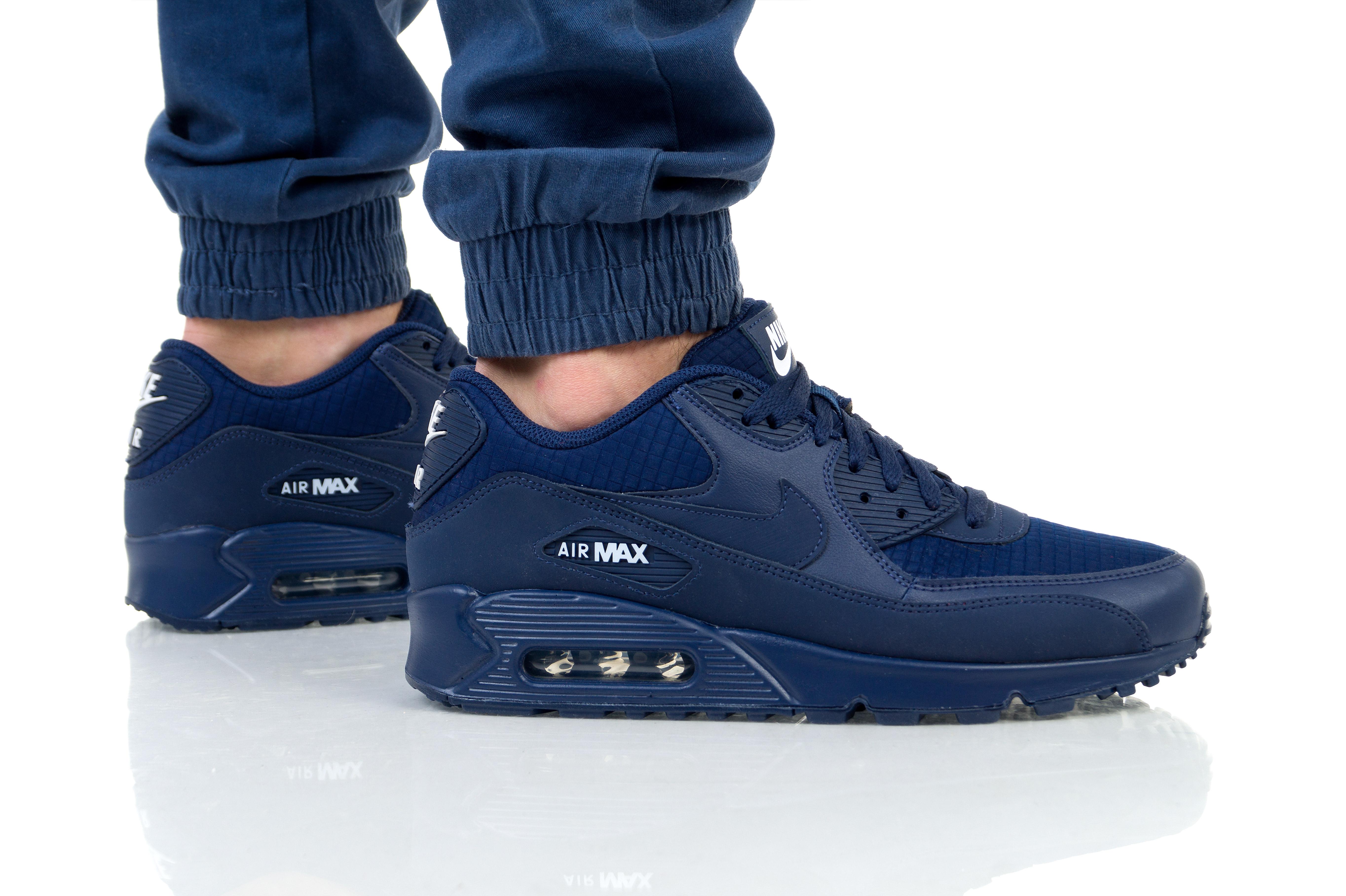 נעלי הליכה נייק לגברים Nike AIR MAX 1 - כחול