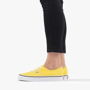 נעלי הליכה ואנס לנשים Vans Authentic - צהוב