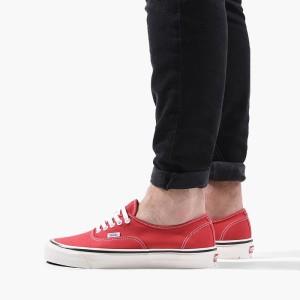 נעלי סניקרס ואנס לגברים Vans Authentic - אדום/צבעוני