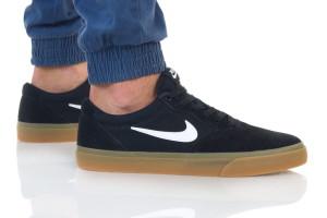 נעלי סניקרס נייק לגברים Nike SB CHRONO - שחור/חום