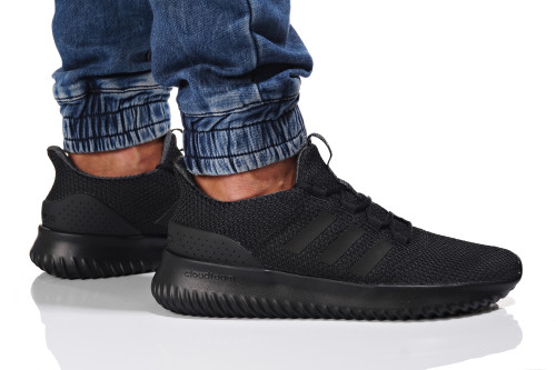 נעלי הליכה אדידס לגברים Adidas CLOUDFOAM ULTIMATE - שחור מלא