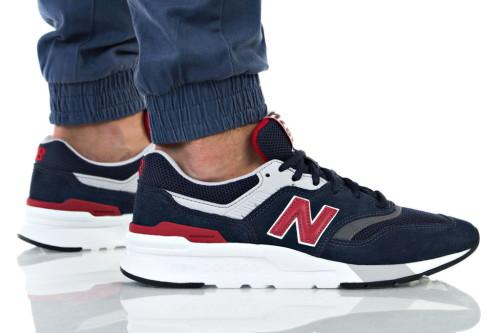 נעליים ניו באלאנס לגברים New Balance 997 - שחור/אדום