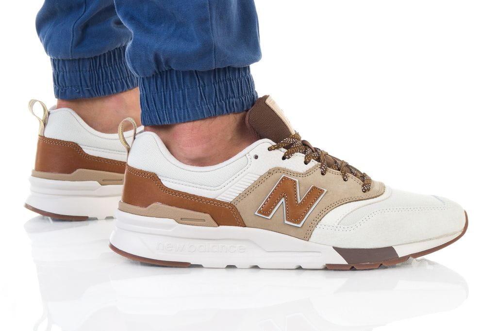נעליים ניו באלאנס לגברים New Balance 997 - חום בהיר