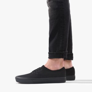 נעלי סניקרס ואנס לגברים Vans ComfyCush Authentic - שחור