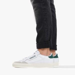 נעליים Adidas Originals לנשים Adidas Originals Originals Continental Vulc - לבן/ירוק