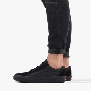 נעליים ואנס לגברים Vans Old Skool - שחור מלא