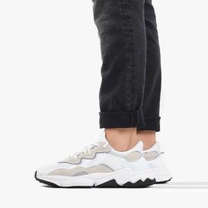 נעלי סניקרס אדידס לגברים Adidas Originals Ozweego - לבן/אפור