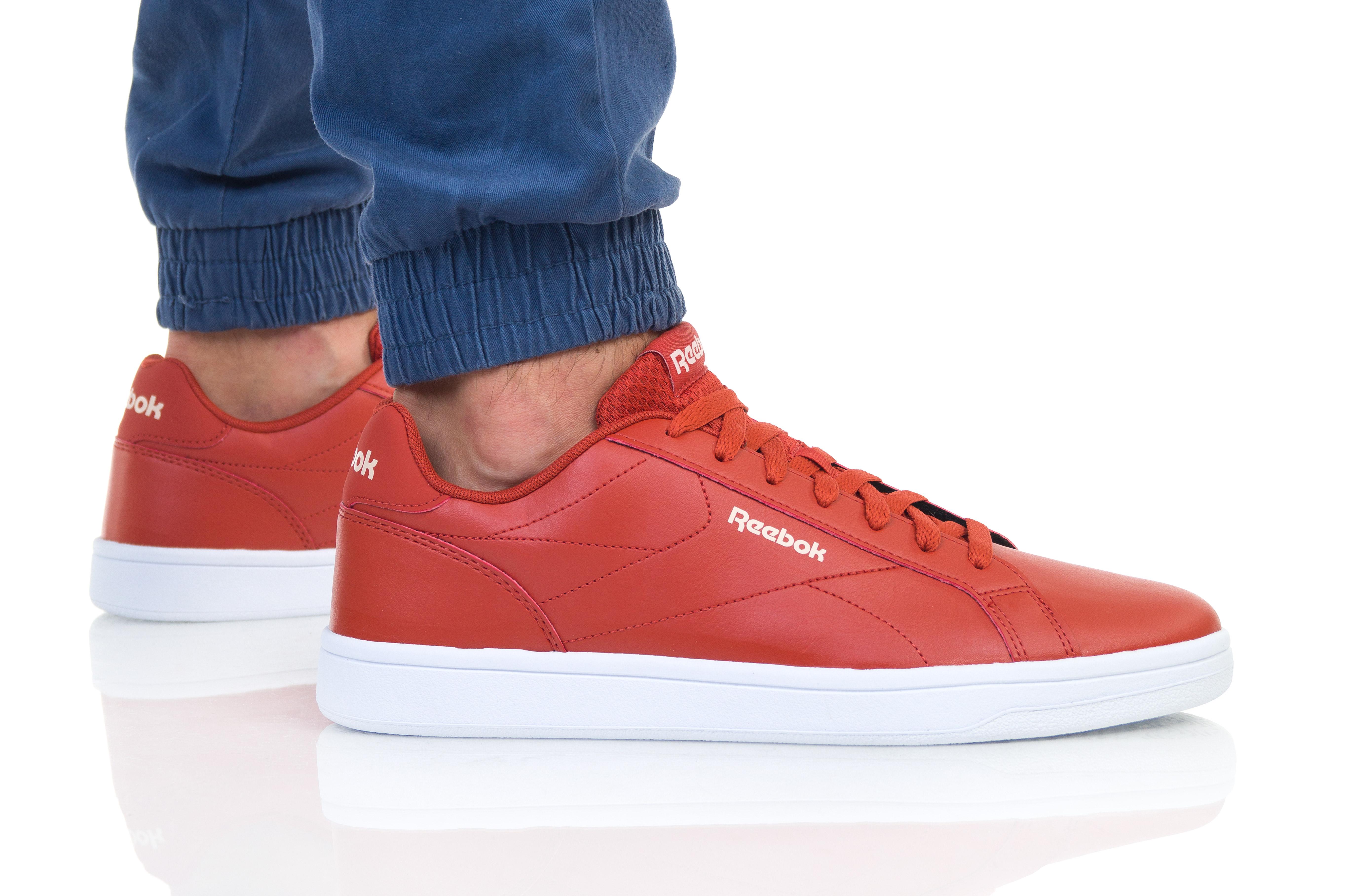נעליים ריבוק לגברים Reebok ROYAL COMPLETE CLN - אדום