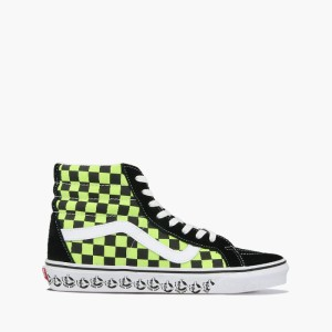 נעליים ואנס לנשים Vans Sk8-Hi Reissue - צהוב