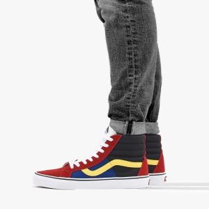 נעליים ואנס לגברים Vans Sk8-Hi - בורדו