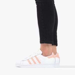 נעליים Adidas Originals לנשים Adidas Originals Superstar J - כתום