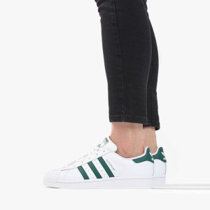 נעליים Adidas Originals לנשים Adidas Originals Superstar J - ירוק