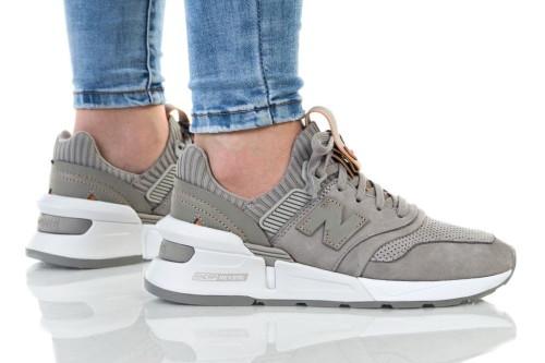נעליים ניו באלאנס לנשים New Balance 997 - אפור בהיר