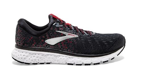 נעליים ברוקס לגברים Brooks Glycerin 17 - שחור/אדום