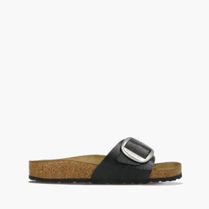 כפכפים בירקנשטוק לנשים Birkenstock Madrid big buckle - שחור