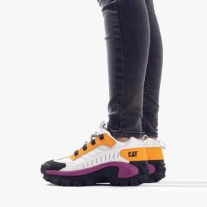 נעלי טיולים קטרפילר לנשים Caterpillar Intruder - לבן/צהוב