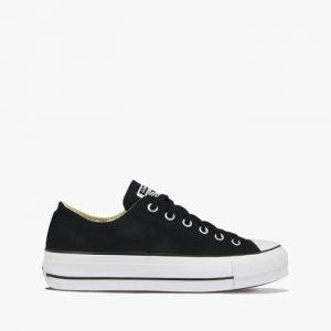 נעלי סניקרס קונברס לנשים Converse Chuck Taylor All Star Lift - לבן/שחור
