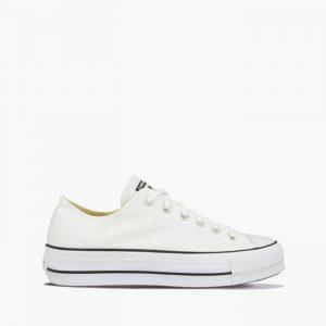 נעלי סניקרס קונברס לנשים Converse Chuck Taylor All Star Lift - לבן הדפס