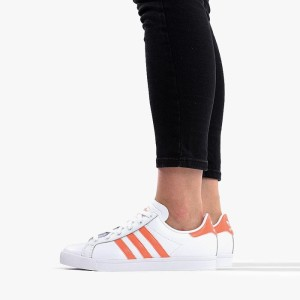 נעליים Adidas Originals לנשים Adidas Originals Coast Star - לבן/כתום