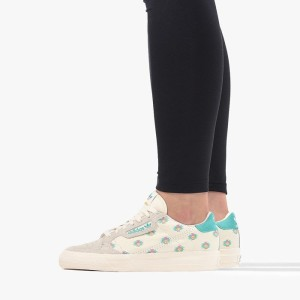 נעליים Adidas Originals לנשים Adidas Originals Continental Vulc Arizona - לבן הדפס
