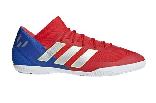 נעליים אדידס לגברים Adidas NEMEZIZ MESSI 18.3 IN - אדום/צבעוני