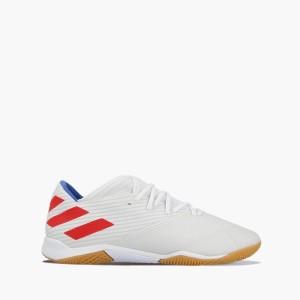 נעליים אדידס לגברים Adidas NEMEZIZ MESSI 19.3 IN - לבן  כחול  אדום