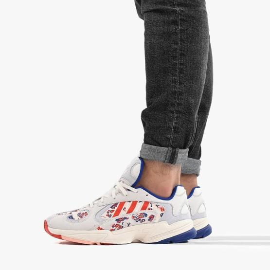 נעליים Adidas Originals לגברים Adidas Originals Yung-1 - לבן הדפס