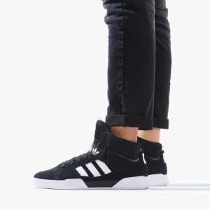 נעליים Adidas Originals לגברים Adidas Originals  VRX Mid - שחור/לבן