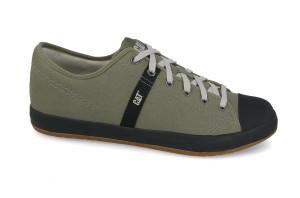 נעליים אלגנטיות קטרפילר לגברים Caterpillar Checklist Canvas - ירוק