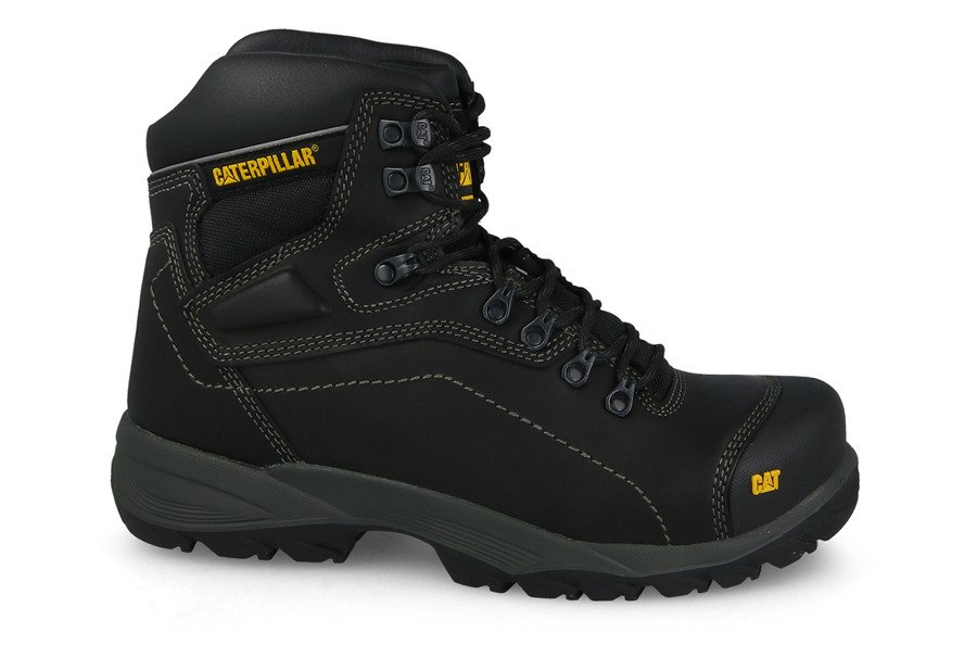 נעלי טיולים קטרפילר לגברים Caterpillar Diagnostic - שחור