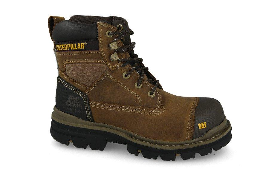 נעלי טיולים קטרפילר לגברים Caterpillar Gravel - חום