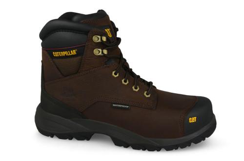 נעלי טיולים קטרפילר לגברים Caterpillar Spiro - חום כהה