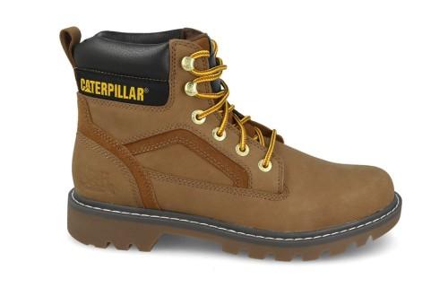 נעלי טיולים קטרפילר לגברים Caterpillar Stickshift - חום