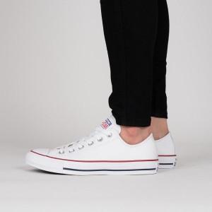 נעלי סניקרס קונברס לגברים Converse CHUCK TAYLOR ALL STAR - לבן