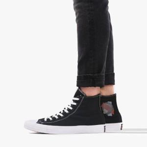 נעליים קונברס לגברים Converse Chuck Taylor All star Hi - שחור
