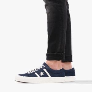 נעליים קונברס לגברים Converse One Star Academy - כחול כהה