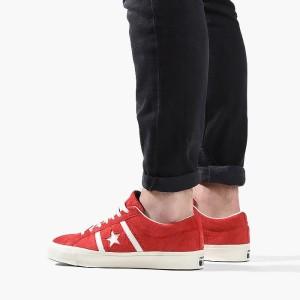 נעליים קונברס לגברים Converse One Star Academy - אדום