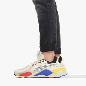 נעלי הליכה פומה לגברים PUMA RS-X Tracks - לבן  כחול  אדום