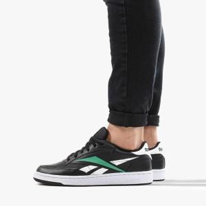 נעליים ריבוק לגברים Reebok Club C 85 MU  - שחור/ירוק