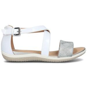נעליים ג'יאוקס לנשים Geox Donna Sand.Vega - אפור