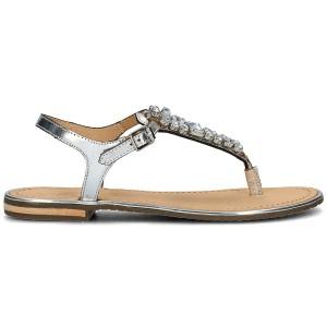נעליים ג'יאוקס לנשים Geox Donna Sozy Plus - כסף