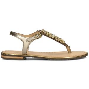 נעליים ג'יאוקס לנשים Geox Donna Sozy Plus - זהב