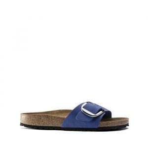 נעליים בירקנשטוק לנשים Birkenstock Madrid big buckle - חוםכחול